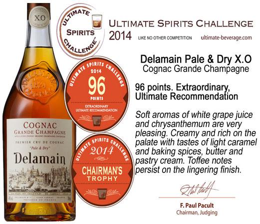 Delamain Pale & Dry XO-416