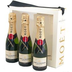 Champagne Moët & Chandon Brut Impérial Piccolo trio-0