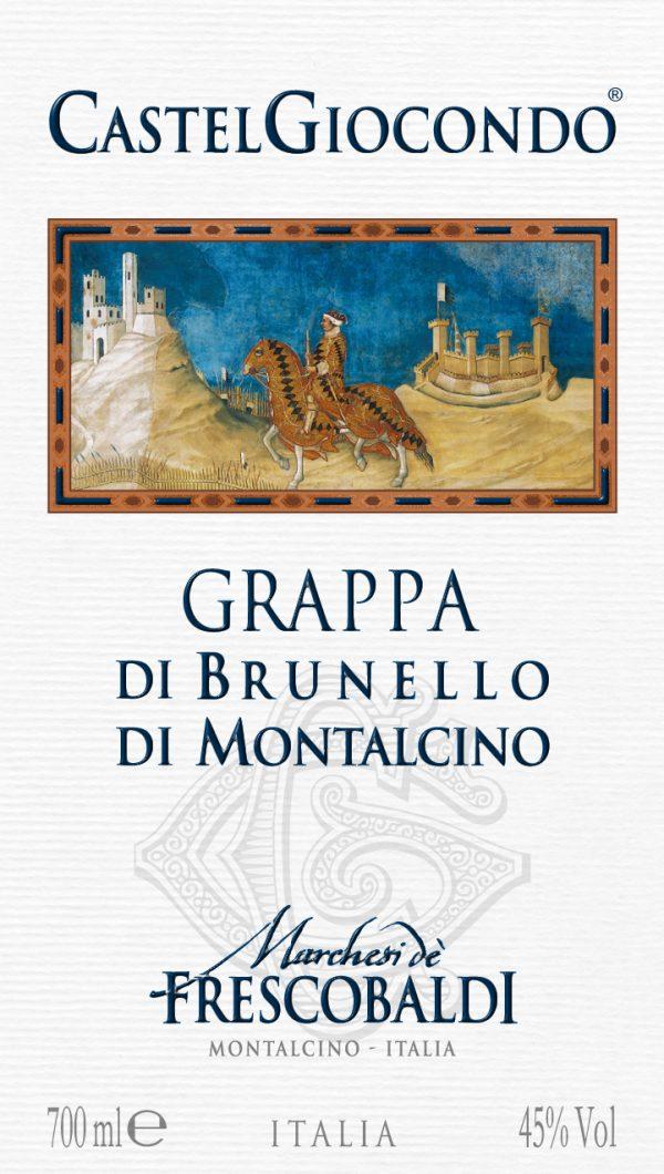 Grappa Brunello di Montalcino Frescobaldi-704