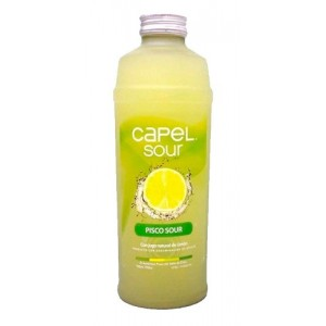 Pisco Capel Sour Con Limon -0