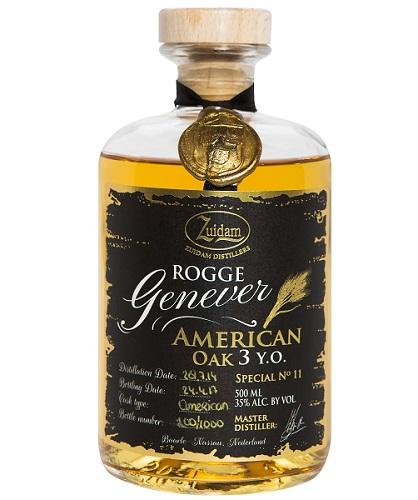 Zuidam Rogge Genever American Oak 3Y-0