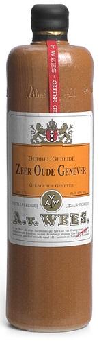 Van Wees Dubbel gebeide Zeer Oude Jenever -0