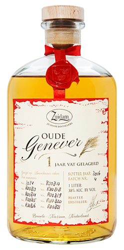 Zuidam Oude Jenever 1 jaar 1L-0